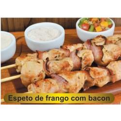 ESPETINHO FRANGO & BACON 600 gr
